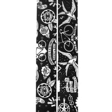 Load image into Gallery viewer, Cycology Velo Tattoo (Black) Handlebar Tape