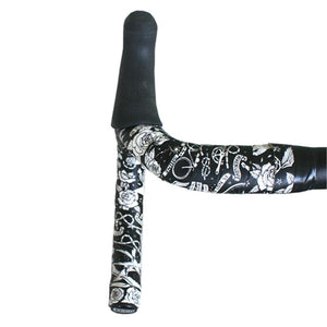 Cycology Velo Tattoo (Black) Handlebar Tape