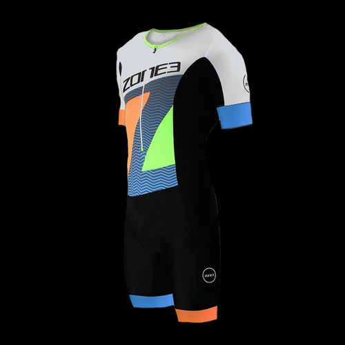 Zone3 Men's LAVA TriSuit Short Sleeve - Limited Edition Print