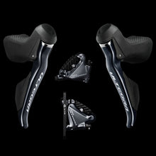 Load image into Gallery viewer, Shimano Ultegra Di2 Dual Control Lever Hydraulic Disc Brake ST-R8070 with Brake Caliper BR-R8070