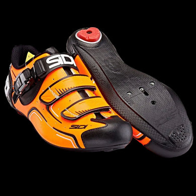 Sidi Level Orange Fluo Black