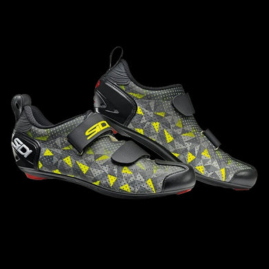 Sidi T-5 Air Grey Yellow Black