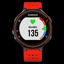 Load image into Gallery viewer, Garmin Smart Watch Forerunner 235 Lava Red
