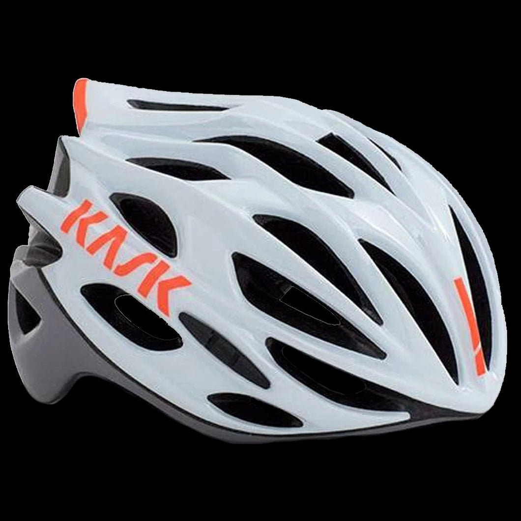 Kask Mojito - White Ash Orange Fluo - Size Medium