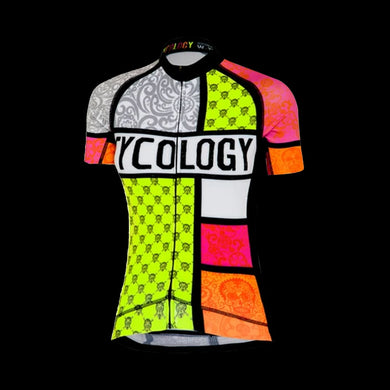Cycology Mondrian Women's Jersey - Best Cycling Jersey In India