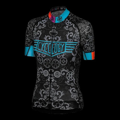 Cycology Lucky Chain Ring Women's Jersey -Best Cycling Jersey In India