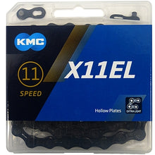 Load image into Gallery viewer, KMC X11speed ExtraLight BlackTech Chain