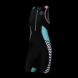 Zone3 Women's Activate Plus Trisuit- Zebra Fly
