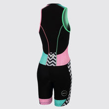 Load image into Gallery viewer, Zone3 Women's Activate Plus Trisuit- Zebra Fly