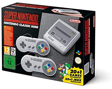 Nintendo Classic Mini Console: Super Nintendo Entertainment System - patasys