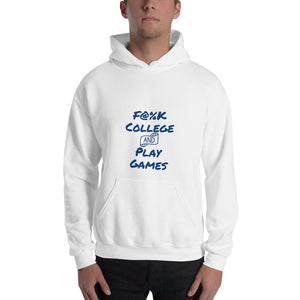 F@%K College and Play Games Hoodie - patasys
