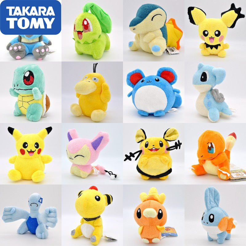 Stuffed Pokémon Figures