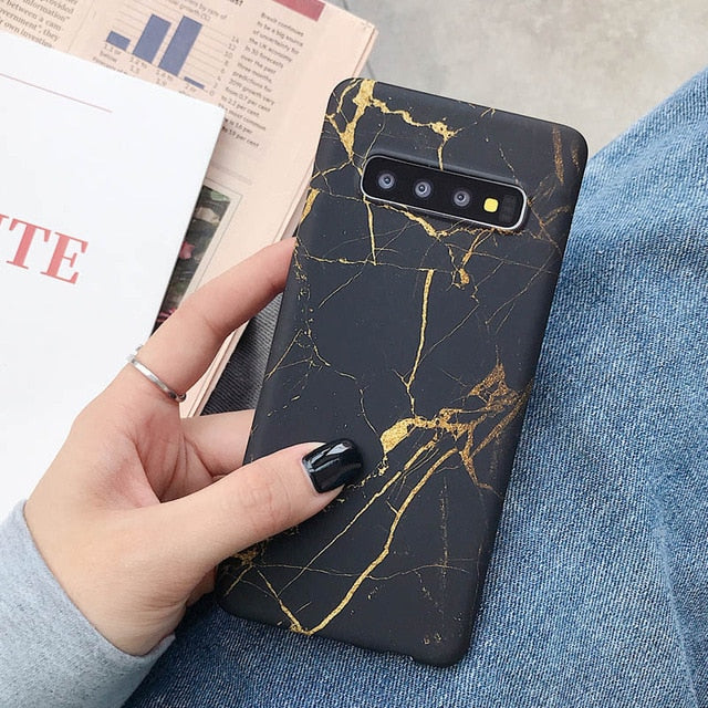 Cracked Marble Case