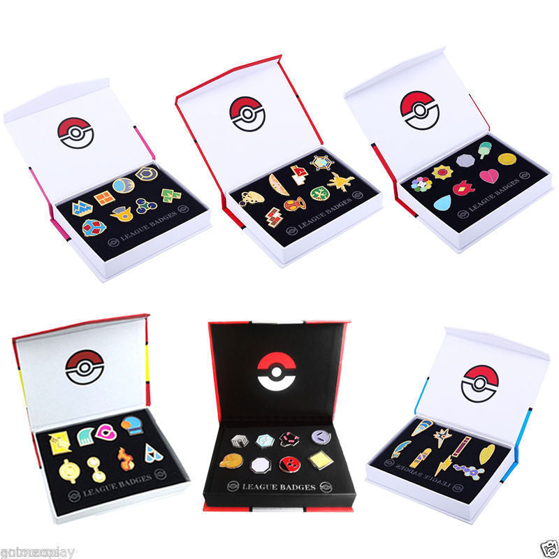 Pokemon Gym Badges - patasys
