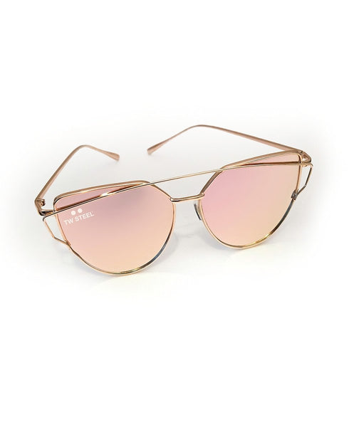 TW Steel Rose Gold Sunglasses