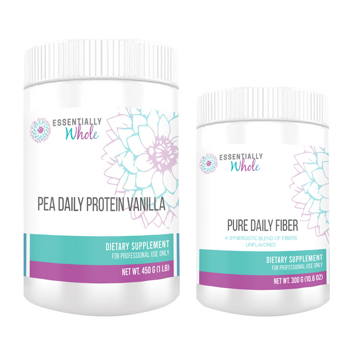 Detox Re-Entry Kit: Pea Protein + Fiber