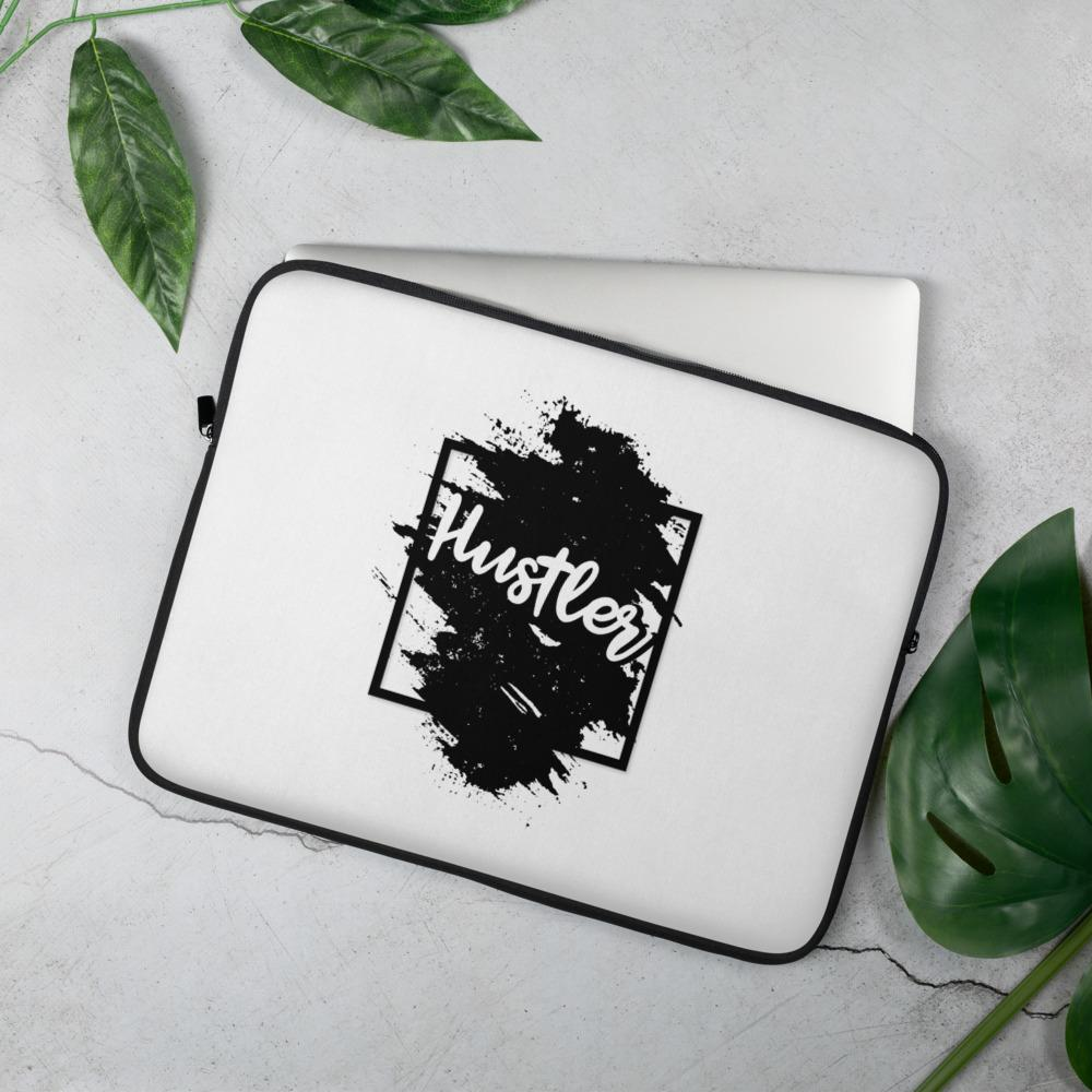 "Laptop Sleeve ""The Hustler"" Black Edition 15 in - Mperior: The Store For Entrepreneurs, Hustlers and Achievers"