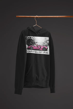 "Mens Hoodie ""Capitalist"" BlackS - Mperior: The Store For Entrepreneurs, Hustlers and Achievers"