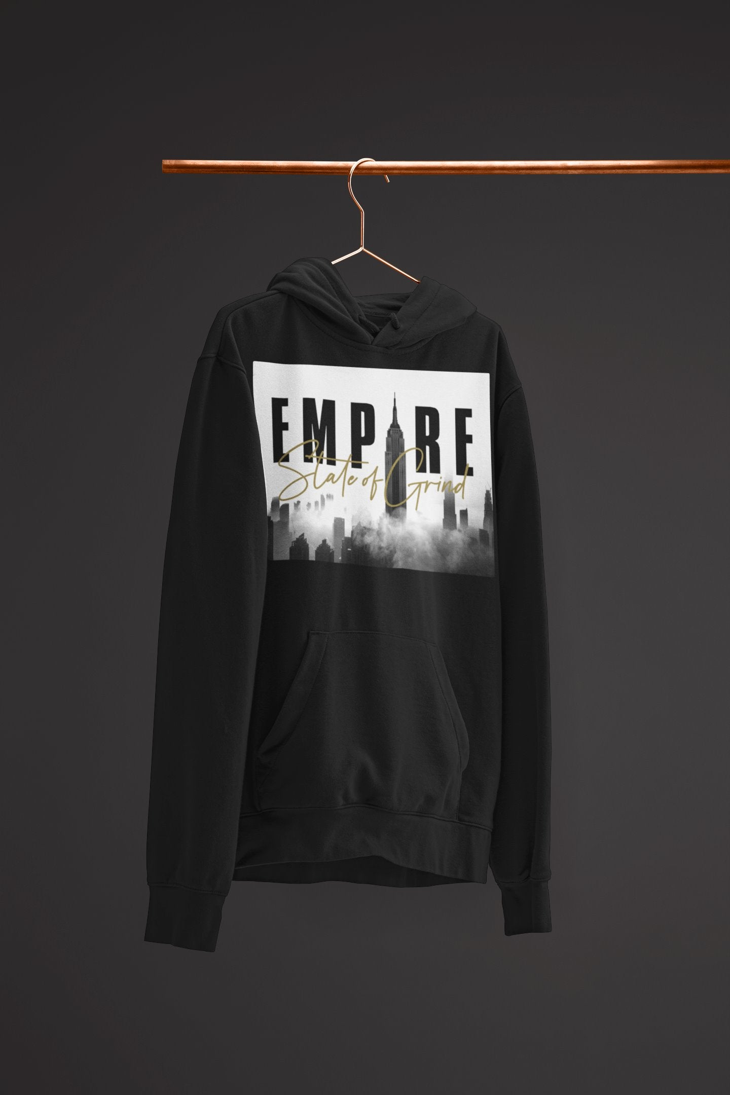 "Mens Hoodie ""Legacy"" BlackS - Mperior: The Store For Entrepreneurs, Hustlers and Achievers"