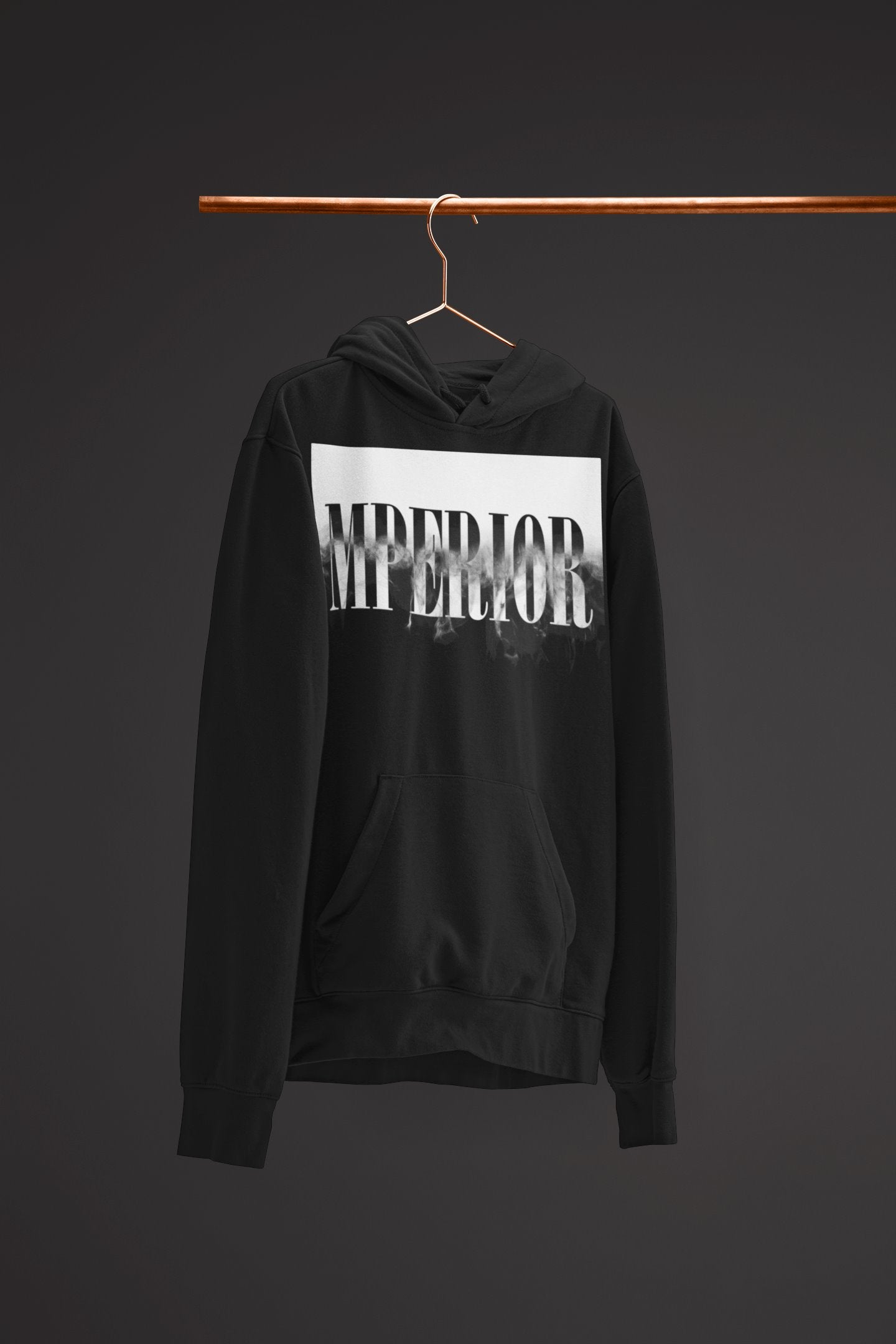 "Mens Hoodie ""Transformation"" BlackS - Mperior: The Store For Entrepreneurs, Hustlers and Achievers"