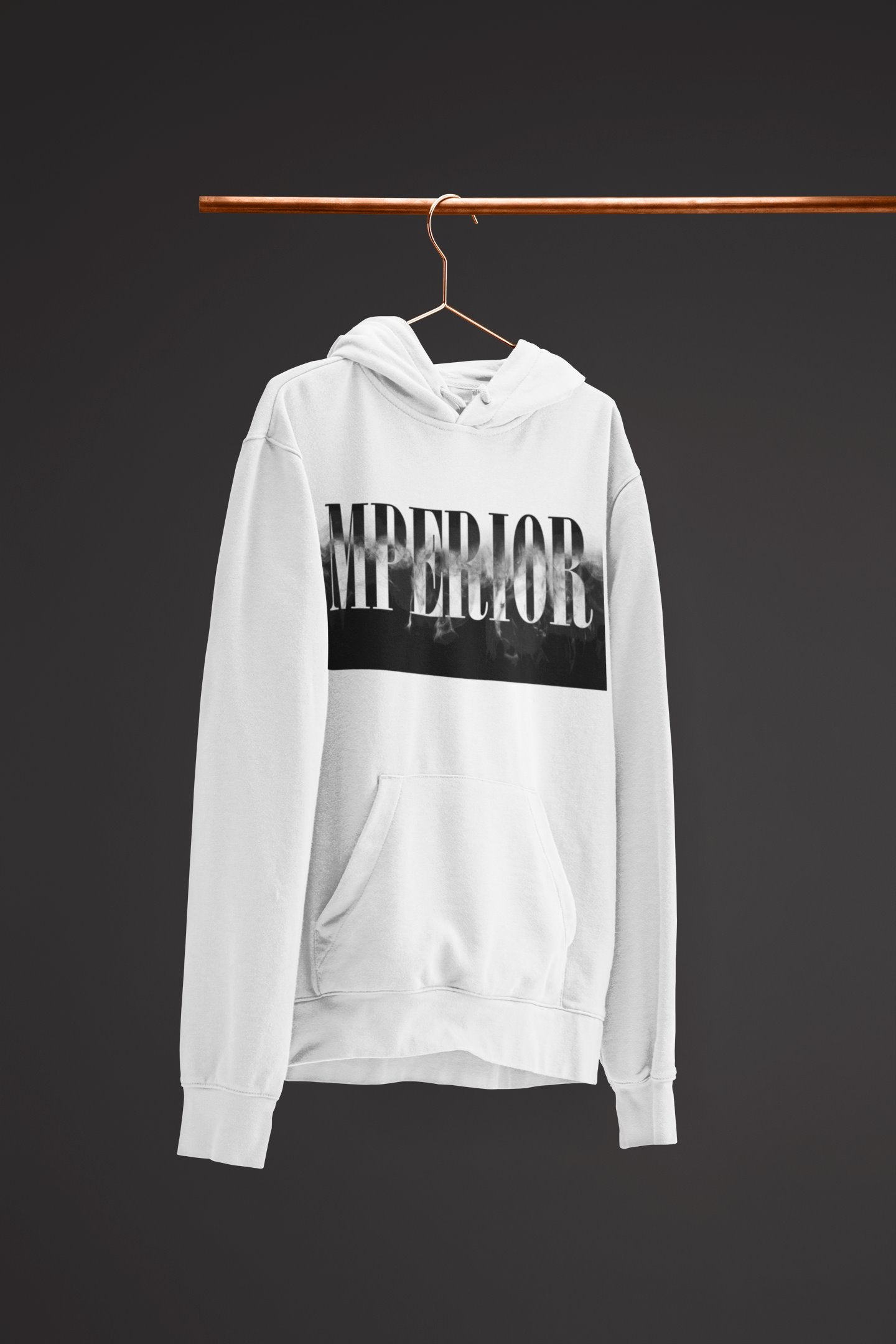 "Mens Hoodie ""Transformation"" WhiteS - Mperior: The Store For Entrepreneurs, Hustlers and Achievers"