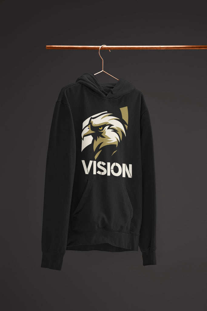 "Mens Hoodie ""Vision"" S - Mperior: The Store For Entrepreneurs, Hustlers and Achievers"