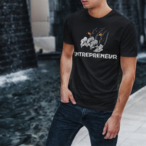 "Mens Roundneck T-Shirt ""Claws"" BlackXS - Mperior: The Store For Entrepreneurs, Hustlers and Achievers"