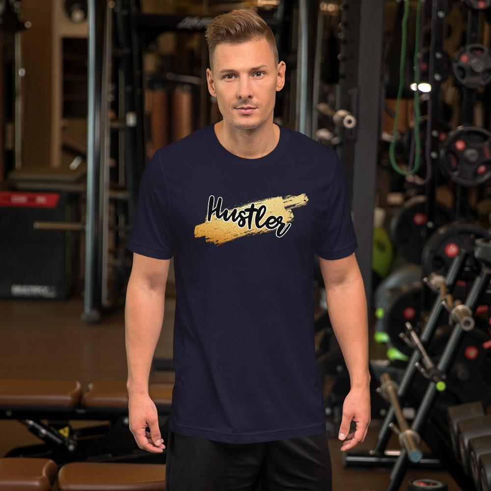 "Mens Roundneck T-Shirt ""HustlerX"" NavyXS - Mperior: The Store For Entrepreneurs, Hustlers and Achievers"