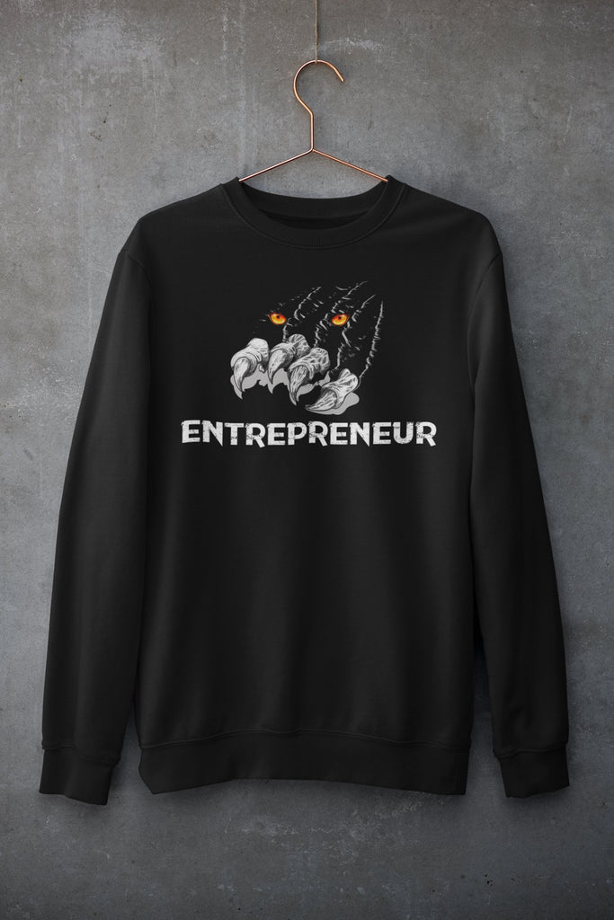 "Mens Sweatshirt ""Claws"" BlackS - Mperior: The Store For Entrepreneurs, Hustlers and Achievers"