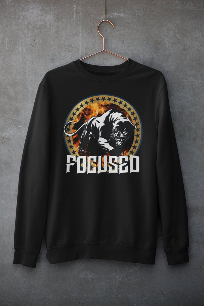"Mens Sweatshirt ""Focused"" BlackS - Mperior: The Store For Entrepreneurs, Hustlers and Achievers"