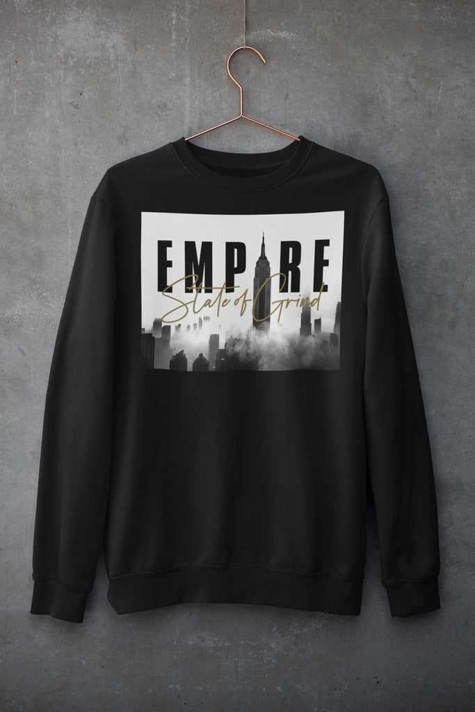 "Mens Sweatshirt ""Legacy"" BlackS - Mperior: The Store For Entrepreneurs, Hustlers and Achievers"
