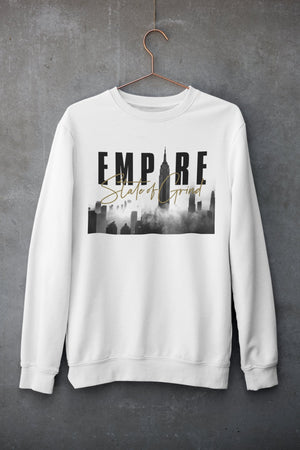 "Mens Sweatshirt ""Legacy"" WhiteS - Mperior: The Store For Entrepreneurs, Hustlers and Achievers"