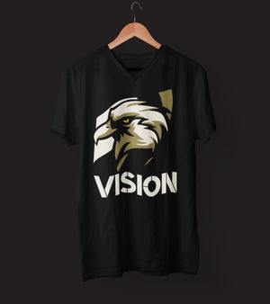 "Mens V-Neck T-Shirt ""Vision"" S - Mperior: The Store For Entrepreneurs, Hustlers and Achievers"