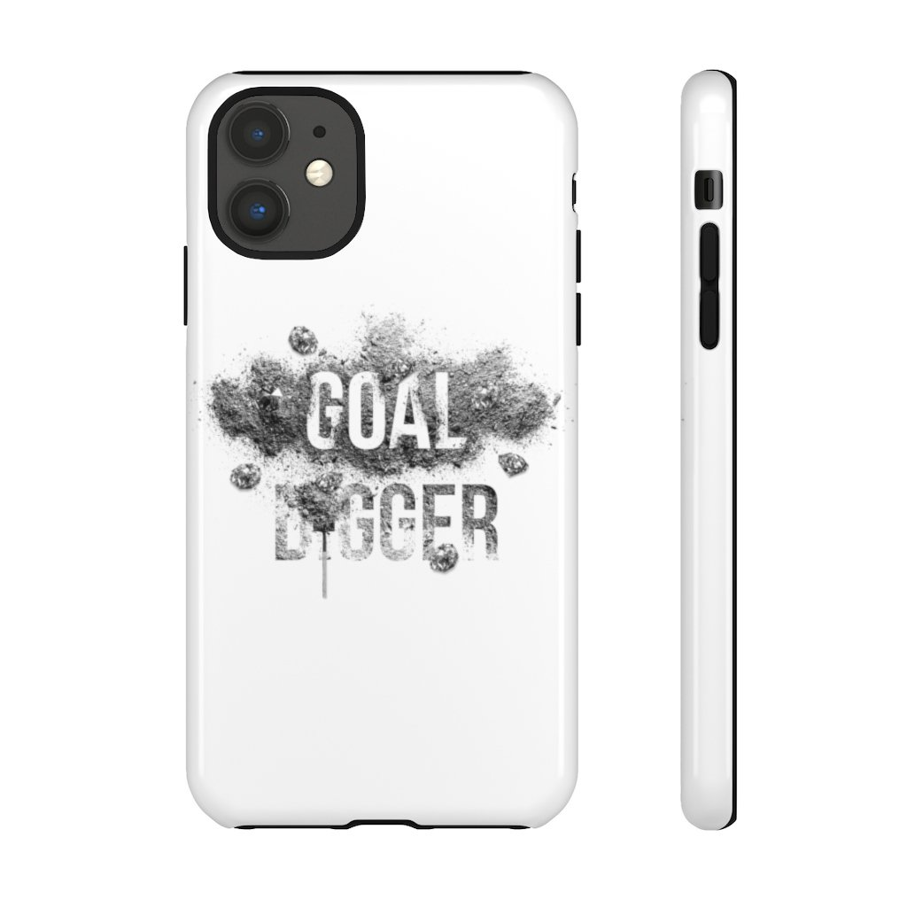 "Phone Case ""Goaldigger""Phone Case iPhone 11Glossy - Mperior: The Store For Entrepreneurs, Hustlers and Achievers"