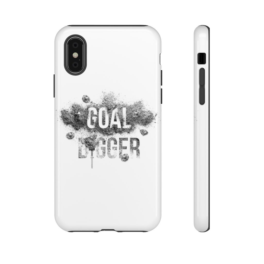 "Phone Case ""Goaldigger""Phone Case iPhone XGlossy - Mperior: The Store For Entrepreneurs, Hustlers and Achievers"