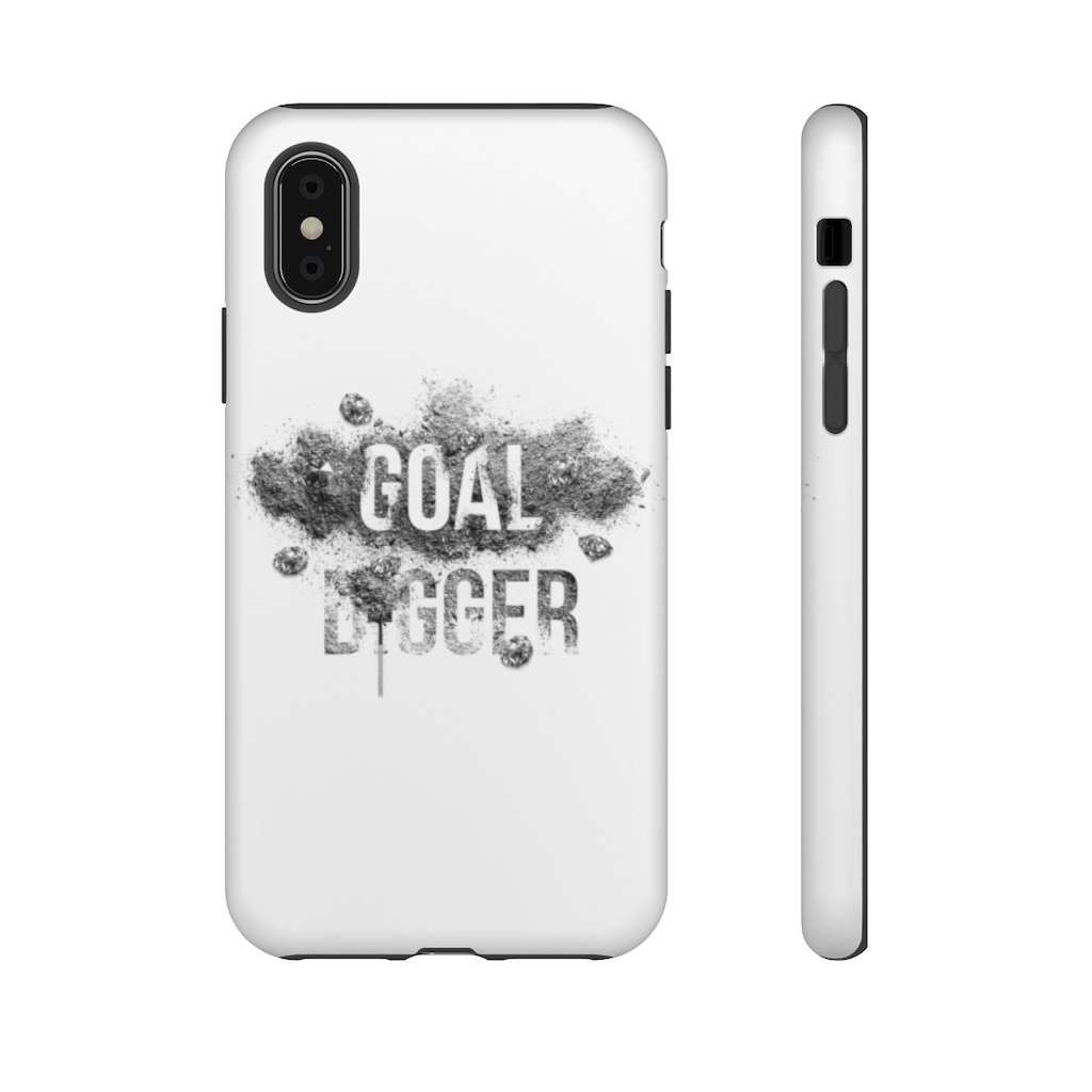 "Phone Case ""Goaldigger""Phone Case iPhone XMatte - Mperior: The Store For Entrepreneurs, Hustlers and Achievers"