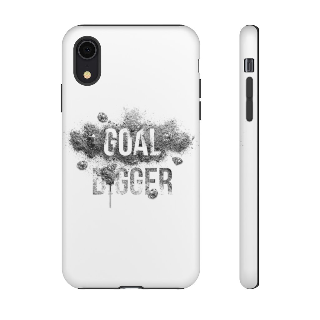 "Phone Case ""Goaldigger""Phone Case iPhone XRMatte - Mperior: The Store For Entrepreneurs, Hustlers and Achievers"