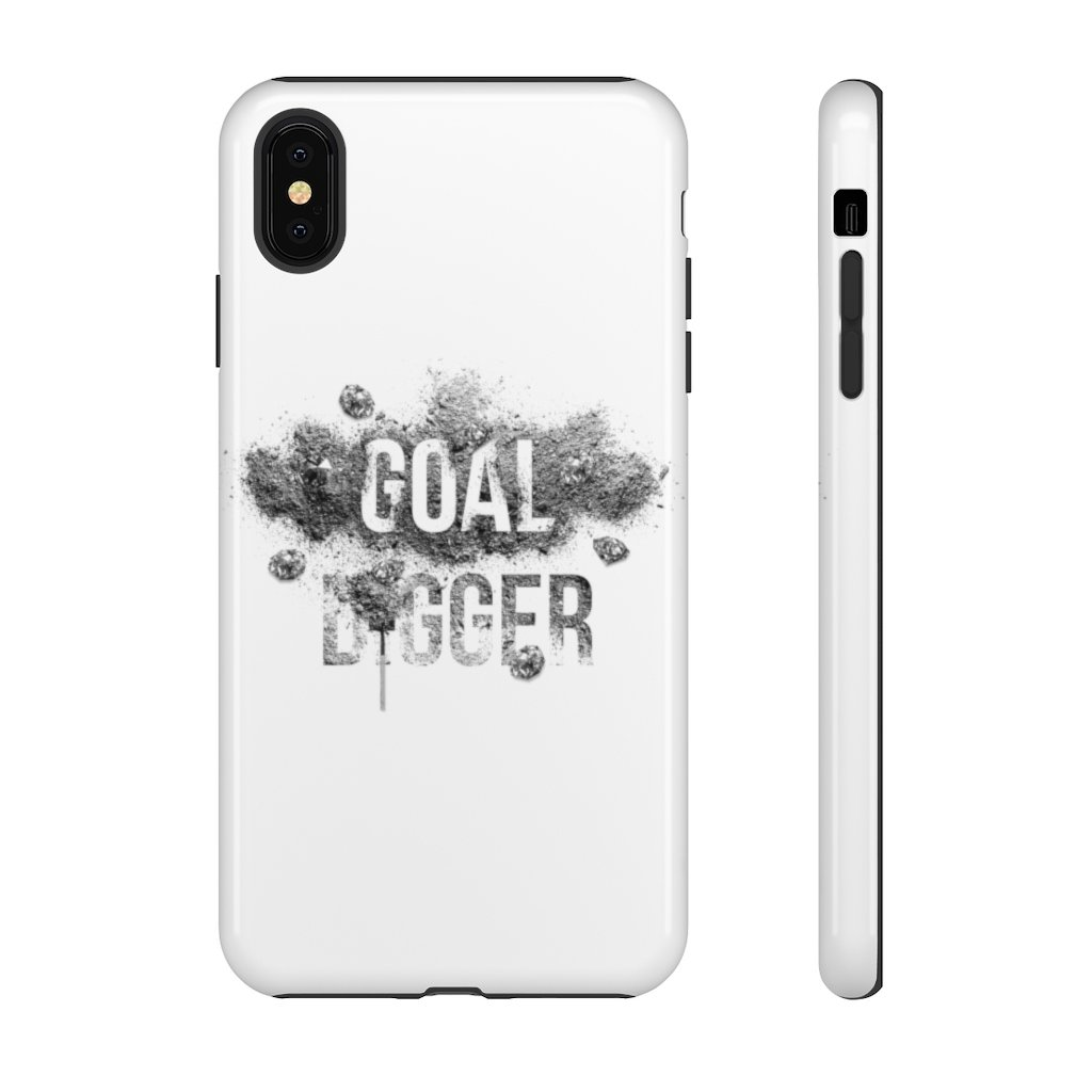 "Phone Case ""Goaldigger""Phone Case iPhone XS MAXGlossy - Mperior: The Store For Entrepreneurs, Hustlers and Achievers"