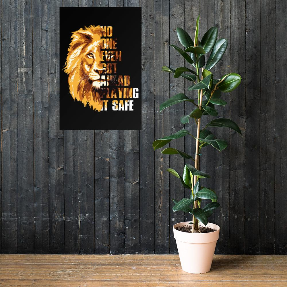"Poster ""GetAhead"" 24×36 - Mperior: The Store For Entrepreneurs, Hustlers and Achievers"