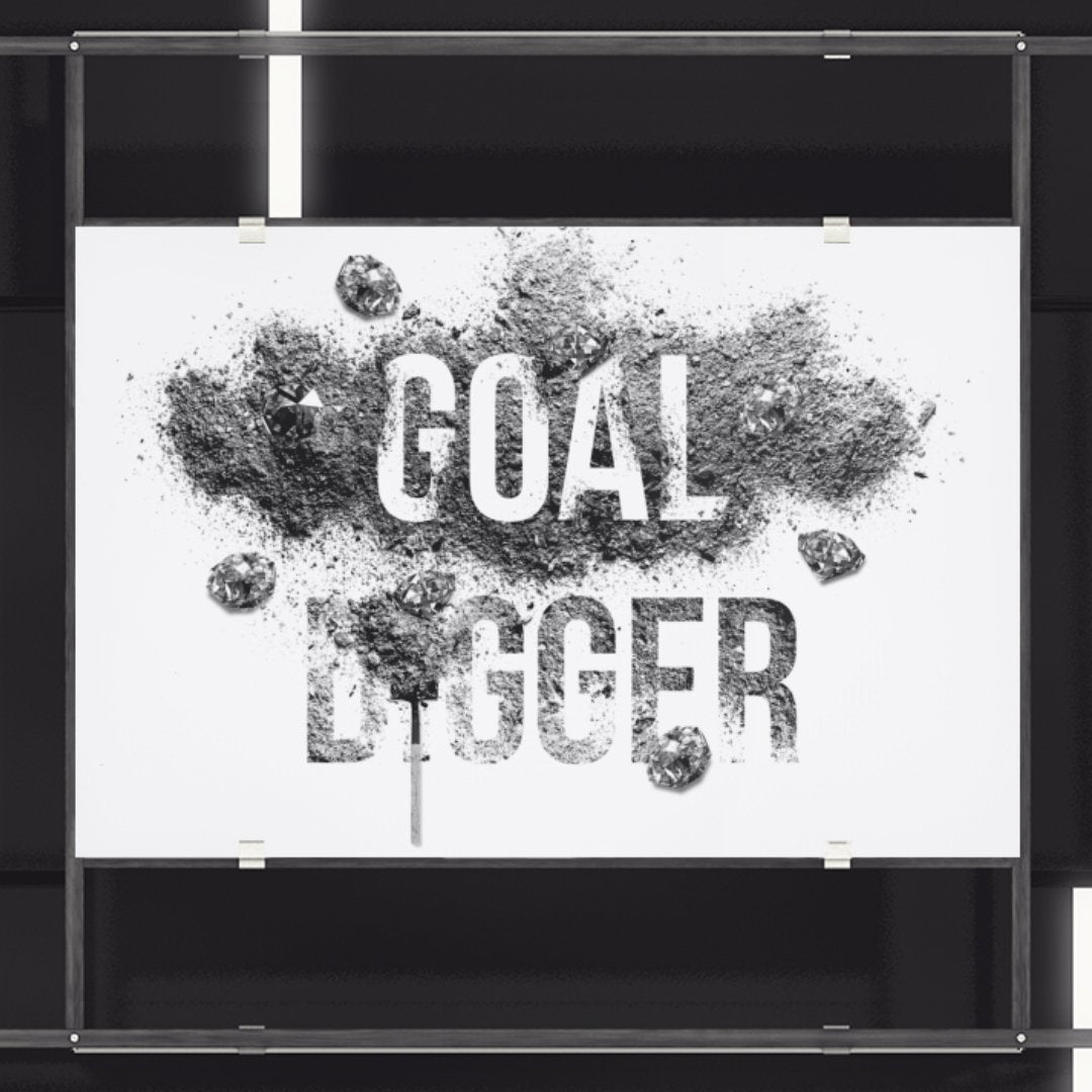 "Poster ""GoalDigger"" - Mperior: The Store For Entrepreneurs, Hustlers and Achievers"