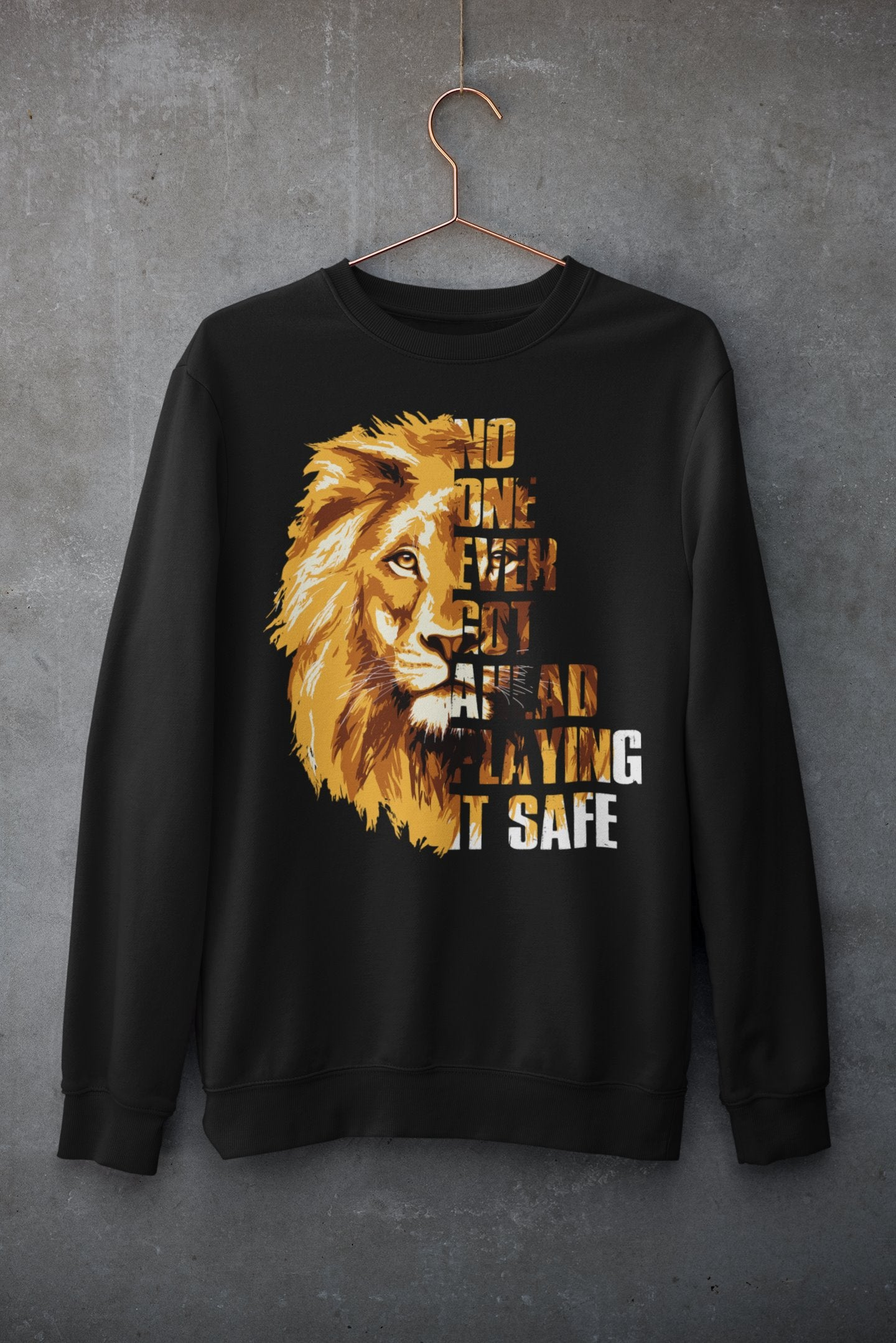 "Womens Oversize Sweatshirt ""GetAhead"" BlackS - Mperior: The Store For Entrepreneurs, Hustlers and Achievers"