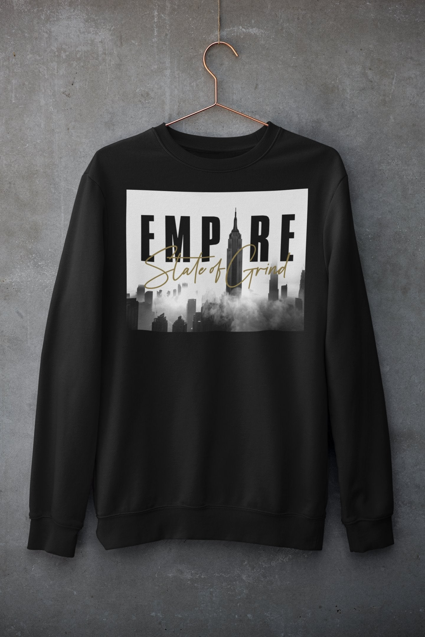 "Womens Oversize Sweatshirt ""Legacy"" BlackS - Mperior: The Store For Entrepreneurs, Hustlers and Achievers"