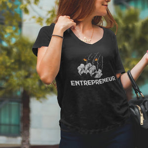 "Womens Scoopneck T-Shirt ""Claws"" XS - Mperior: The Store For Entrepreneurs, Hustlers and Achievers"