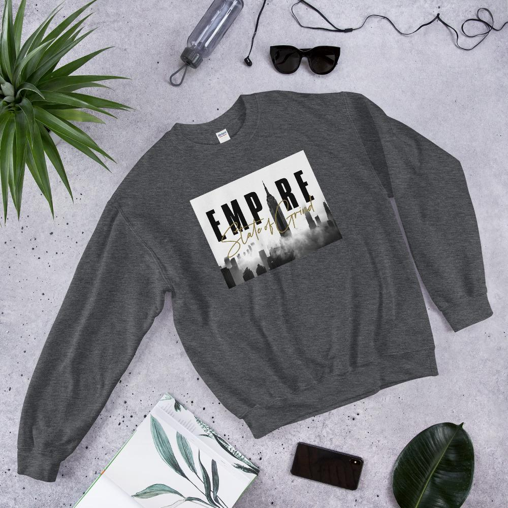 "Womens Sweatshirt ""Legacy"" Dark HeatherS - Mperior: The Store For Entrepreneurs, Hustlers and Achievers"