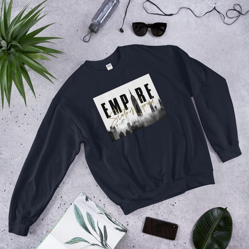 "Womens Sweatshirt ""Legacy"" NavyS - Mperior: The Store For Entrepreneurs, Hustlers and Achievers"