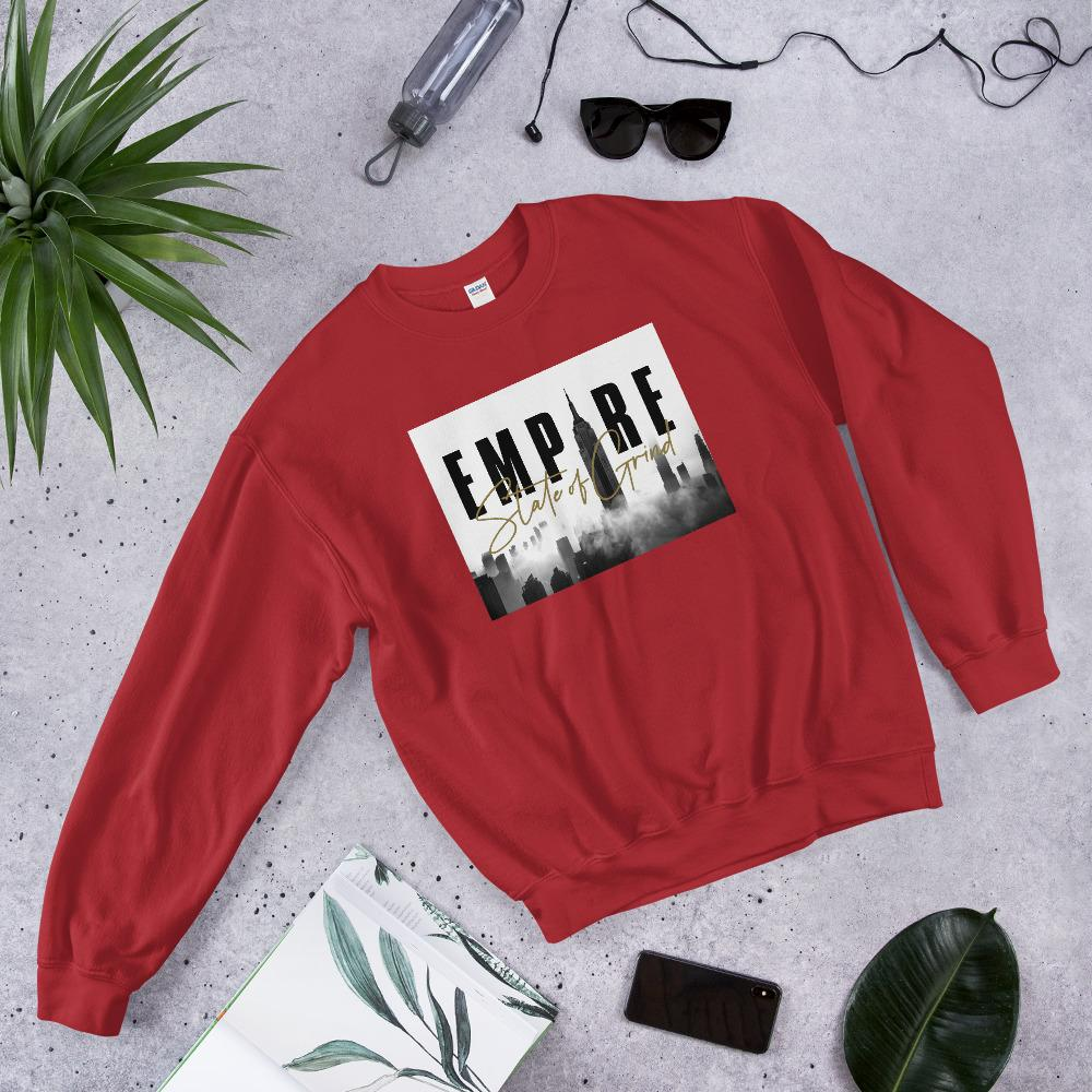 "Womens Sweatshirt ""Legacy"" RedS - Mperior: The Store For Entrepreneurs, Hustlers and Achievers"
