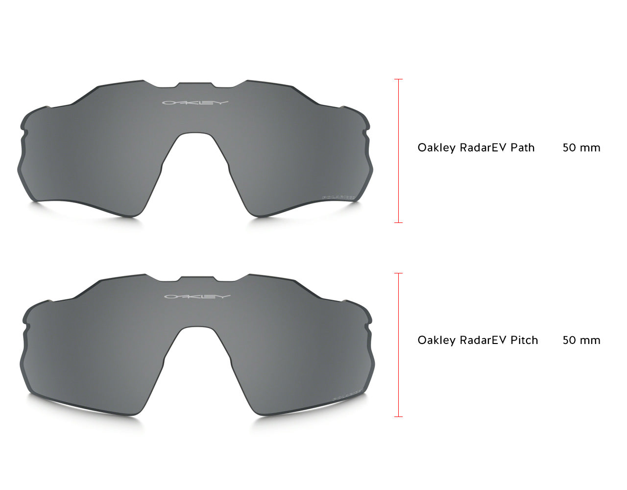 Oakley Radar EV Lenses