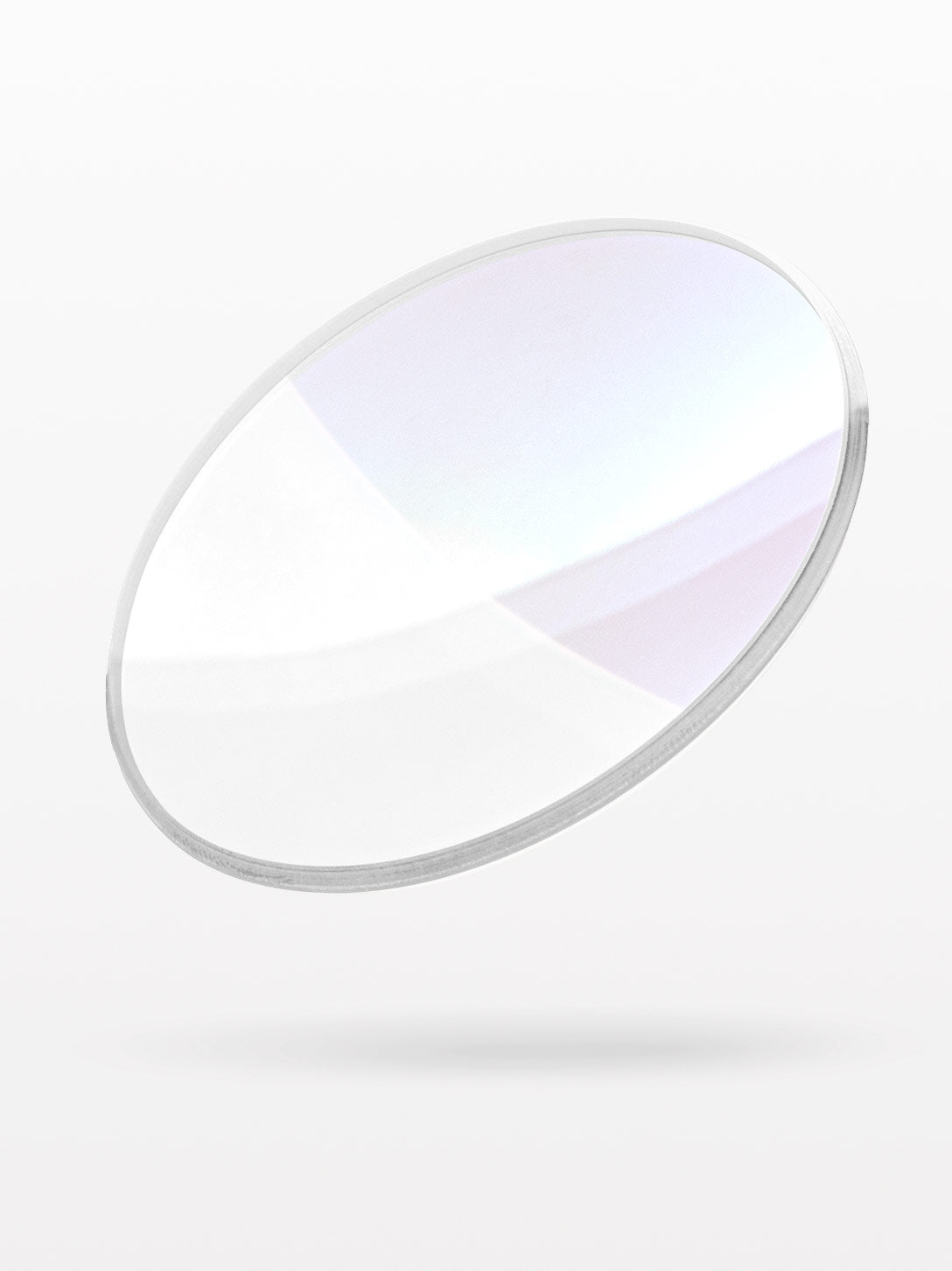 Clear lens with premium coatings applied
