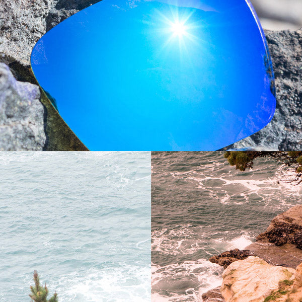 elite polarized ice blue lenses