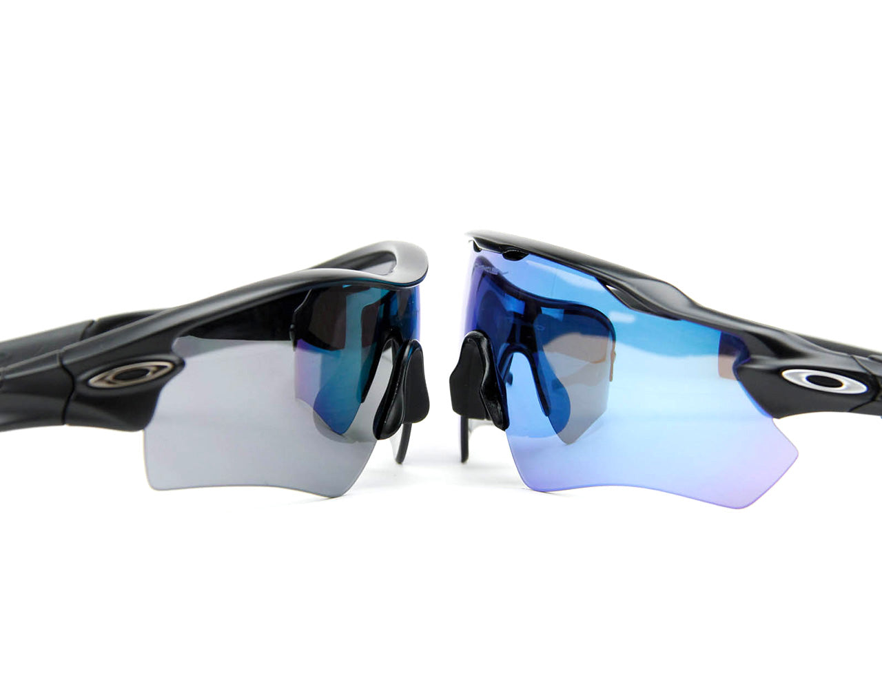 Oakley Radar Path (left) vs Oakley Radar EV Path (right)